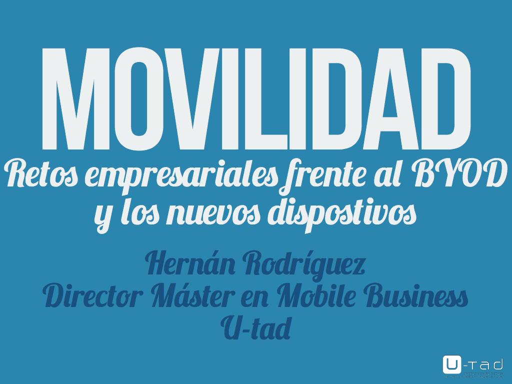 Retos empresariales frente al BYOD y los nuevos dispositivos