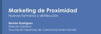 Marketing de Proximidad – Nuevos formatos y distribución